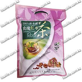 Чай бабао из лепестков  розы  от угрей и сыпи
