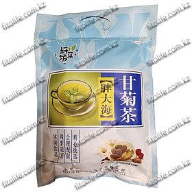 Чай БаБао травяной из паньдахай от фарингита, ангины и хронического бронхита