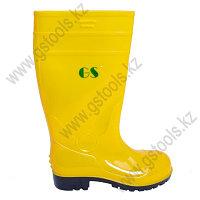 Сапоги резиновые GS желтые