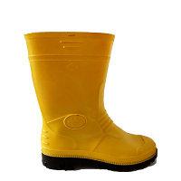 Сапоги резиновые GS short желтые