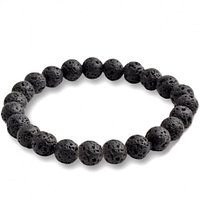 Браслет из камней «лава» (доставка бесплатно)
