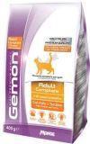 Gemon Adult 400г с курицей и индейкой сухой корм для взрослых кошек