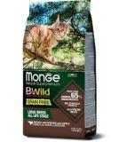 Monge Bwild GF Cat Buffalo (Буйвол) 10кг беззерновой корм для крупных кошек