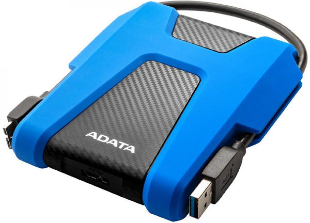 Внешний HDD ADATA AHV680 2TB USB 3.2 Blue (  AHD680-2TU31-CBL)сниний