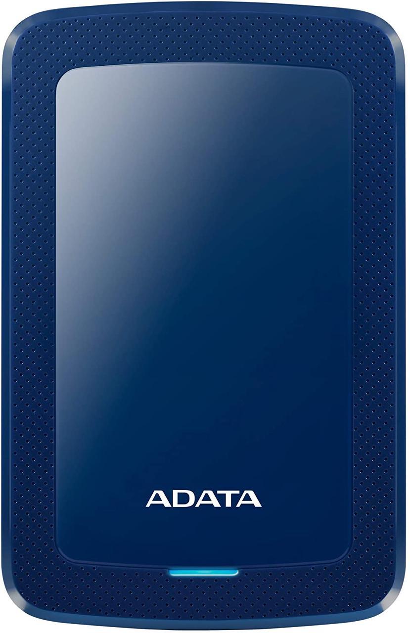 Внешний жесткий диск ADATA HV300 1TB Blue (AHV300-1TU31-CBL)синий