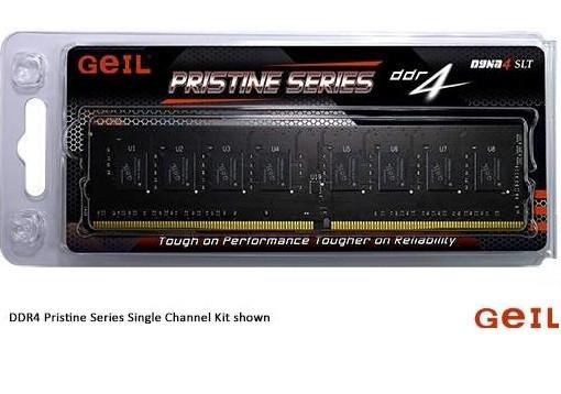 Оперативная память 16GB Kit (2x8GB) GEIL DDR4 2666Mhz PC4-21330 GP416GB2666C19DC PRISTINE SERIES