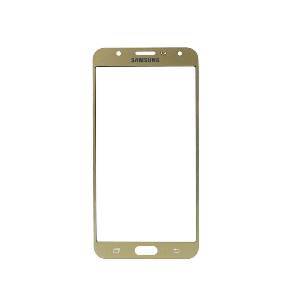 Стекло Samsung Galaxy J7 J700 Gold (57)