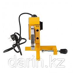 Аппарат для сварки пластиковых труб DWP-1500, 1500 Вт, 260-300 град, комплект насадок, 20-63 мм Denzel