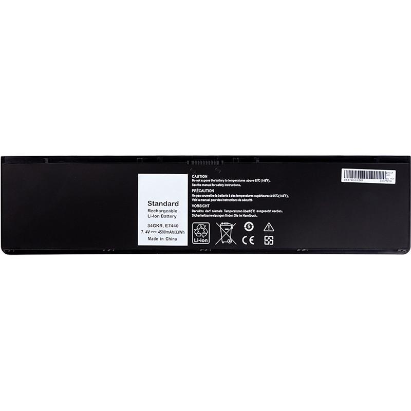 Аккумулятор PowerPlant для ноутбуков DELL Latitude E7440 Series (DL7440PK) 7.4V 5200mAh
