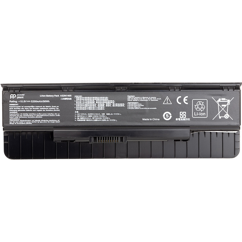 Аккумулятор для ноутбуков ASUS ROG G551 (A32N1405) 10.8V 56Wh (original)