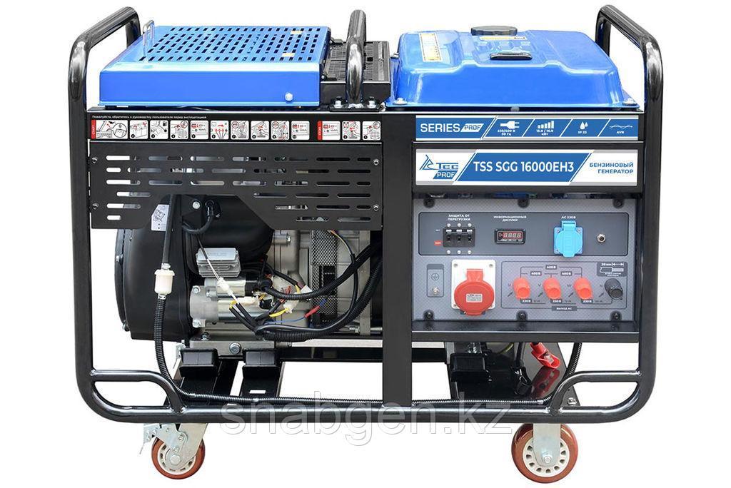 Бензогенератор TSS SGG 16000EH3