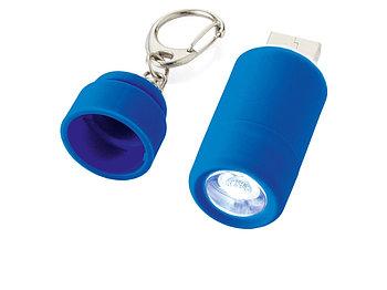 Мини-фонарь Avior с зарядкой от USB, синий