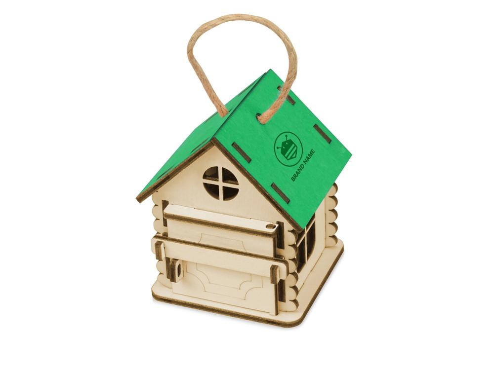 Игрушка Домик упаковка, зеленый - фото 2
