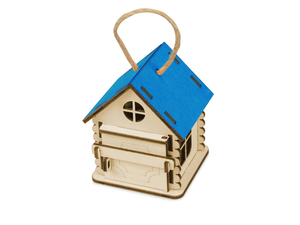Игрушка Домик упаковка, синий - фото 1