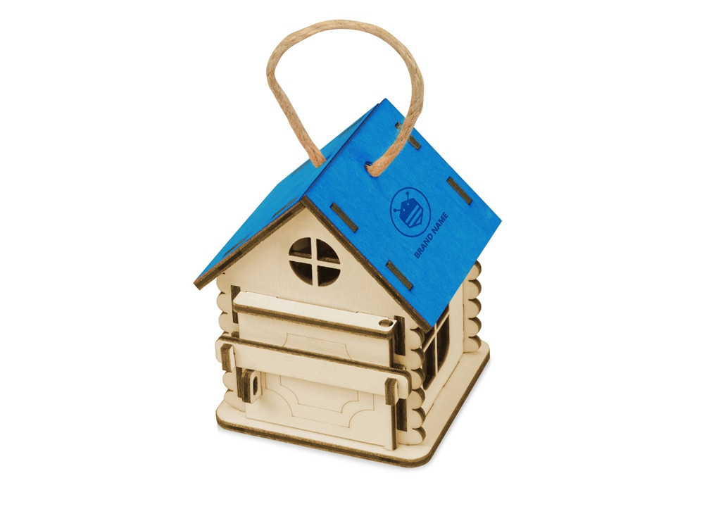 Игрушка Домик упаковка, синий - фото 2