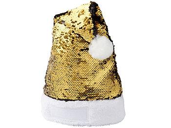 Рождественская шапка Sequins, черный