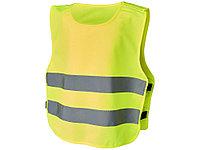 Защитный жилет на липучках Odile для детей 3-6 лет, неоново-желтый