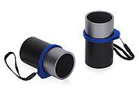Портативные парные колонки Qjet TWS Mates с синими кольцами