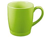 Кружка на 310 мл с силиконовой подставкой, шт., зеленый