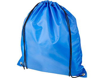 Рюкзак со шнурком Oriole из переработанного ПЭТ, синий