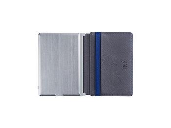 Портмоне с зарядным устройством INE, 3000 mAh, серый
