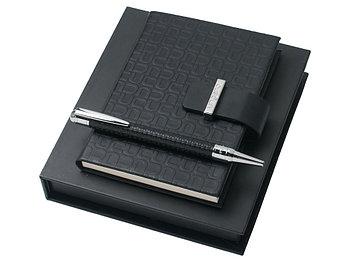 Подарочный набор Uuuu: блокнот А6, ручка шариковая. Ungaro