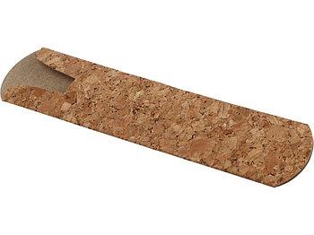 Чехол для ручки Temara из пробки и бумаги, натуральный