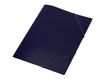 Папка формата А4 на резинке, синий