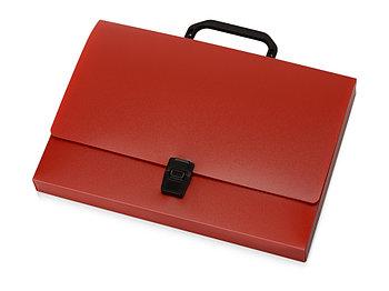 Папка-портфель А4, красный