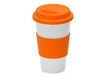 Фарфоровая кружка с двойными стенками Toronto, оранжевый