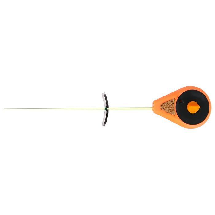 Удочка зимняя «Балалайка» УС-2, хлыст поликарбонат, цвет оранжевый - фото 2