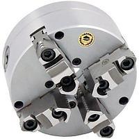 Четырехкулачковый литой токарный патрон Optimum BISON Ø125 мм по DIN 6350 A2-3
