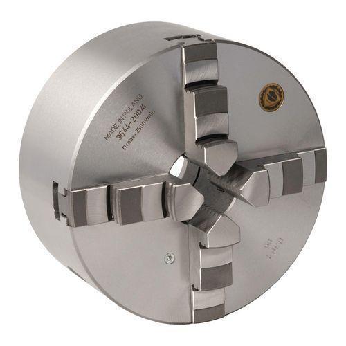Четырехкулачковый токарный патрон Optimum BISON Camlock, литой Ø200 мм DIN ISO 702-2 № 4 (Camlock)