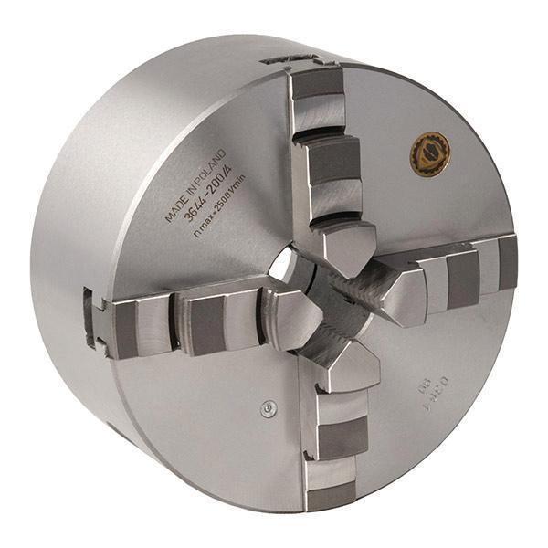 Четырехкулачковый токарный патрон Optimum BISON Camlock, литой Ø250 мм DIN ISO 702-2 № 6 (Camlock)