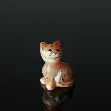 Сувенир «Кошка Муська», малая, 5×7 см, селенит