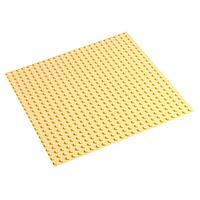 Пластина-основание для конструктора 38,5х38,5 см (диаметр 0,8 см), цвет бежевый
