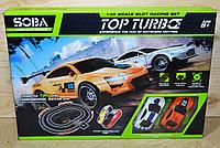 LVT 12110 Top Turbo Гонка автотрек +2машинки 42*30см (2 пульта), фото 1