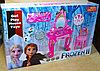 901-712 Frozen-2 Трюмо со стулом 11предм.,62*40см