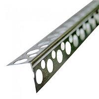 Профиль Stroby Алюминиевый профиль перфорированный 3000 мм для углов
