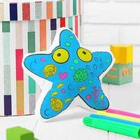 Игрушка-раскраска 'Морская звезда' (без маркеров) в пакете