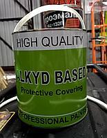 Краска для дорожной разметки (желтая), 4 кг. PROF
