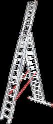 Лестница трехсекционная NV 300, 3*12