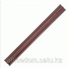 Держатель для ножей «Проотель», магнитный, L=45, B=4.5 см, дерево, коричневый