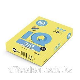 Бумага IQ color Pale YE23, 80г/м2, А4, 500л, желтый