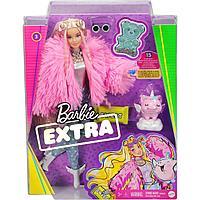 Кукла Barbie Экстра в розовой куртке