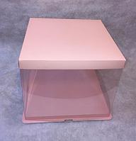 Красивая подарочная розовая упаковка