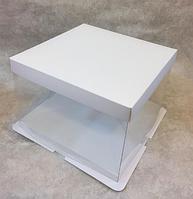 Красивая подарочная белая упаковка