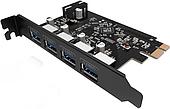 Карта расширения USB PCI-E ORICO PVU3-4P-V1