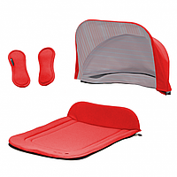 Капор + накидка Seed Papilio Carry Cot Tomato Red