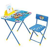 Набор мебели Ника DISNEY стол+пенал+стул Щенячий патруль 1 арт Щ1